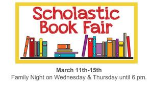 The Scholastic Book Fair Is Open