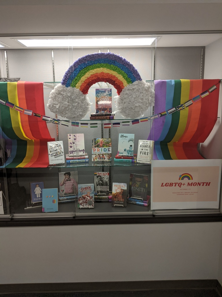 LGBTQ+ Library Display