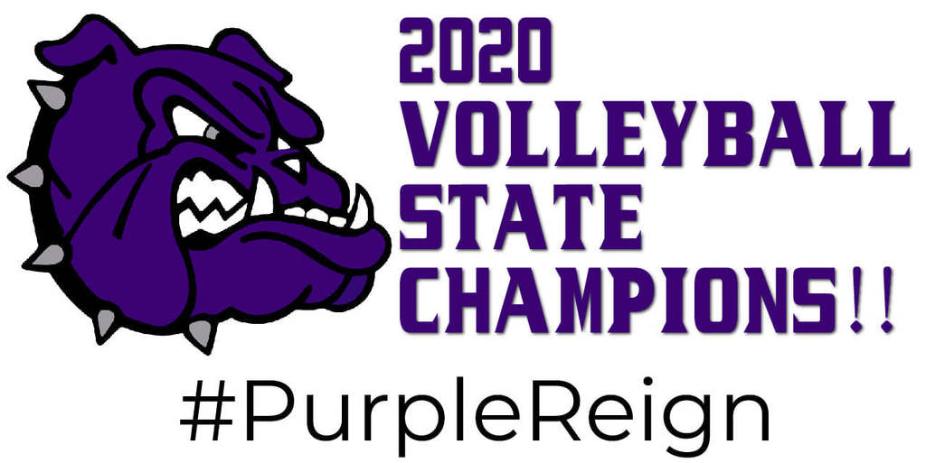 YouFayetteville High School Volley Dogs are the 2020 State Champions!!!