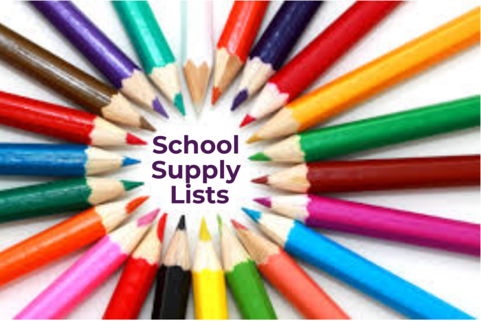 School Supply Lists image of colored pencils