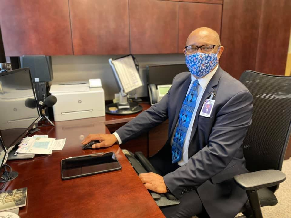 Superintendent Dr. John L Colbert received his second COVID-19 vaccination yesterday, and he's feeling great today! Please get your vaccinations when you get the chance!
