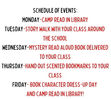 read across america schedule 2021