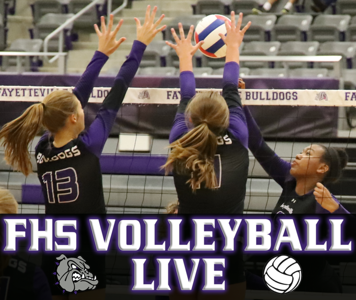 Check out FHS Volleyball LIVE STREAMED tonight at 6:30 pm - FHS vs Bentonville West!