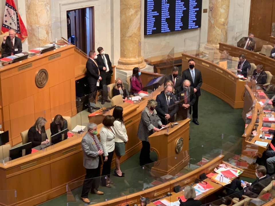 The Joint Resolution honoring 150 Years of Fayetteville Public Schools passes the House! Thank you to our legislators for this honor!