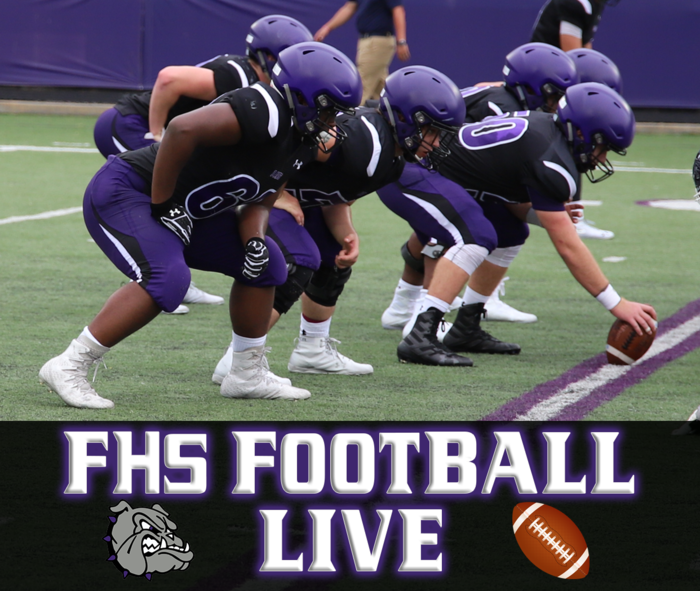 Check out FHS Football LIVE STREAMED tonight at 7:00 pm - FHS vs Owasso!