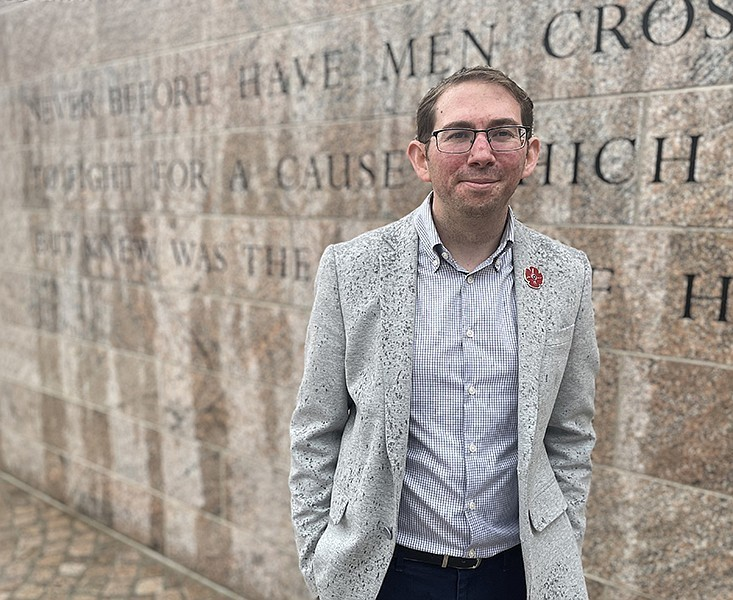 Arkansan-designed memorial to WWI vets opening in D.C. -Alumnus  Joseph Weishaar