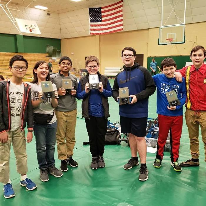 Congrats to Woodland Robotics on winning the Alma Vex IQ Competition, taking home Design Award, Robot Skills Champions, Teamwork Challenge Champions, and Excellence Award!