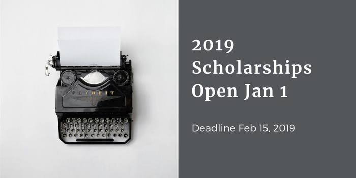 Scholarship applications are open!  Deadline is February 15, 2019 www.fayedfoundation.org/programs/scholarships/