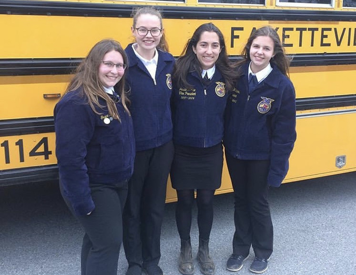 FHS FFA Students