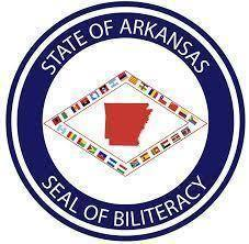 "Fayetteville High School had 38 students receive the Arkansas Seal of Biliteracy! Adopted first by California in 2011, the Seal of Biliteracy is now recognized in 36 states and Washington D.C. According to the official website, ""the Seal of Biliteracy encourages students to pursue biliteracy, honors the skills our students attain, and can be evidence of skills that are attractive to future employers and college admissions offices."" Since the 2017 pilot year a total of 812 Arkansas students from 31 high schools around the state have attained this certification across eleven languages other than English (Arabic, Chinese, French, German, Gujarati, Hindi, Italian, Japanese, Portuguese, Russian, and Spanish). The Arkansas Seal of Biliteracy is awarded each spring and fall to students in grades 9 through 12 and is sponsored by the Arkansas Foreign Language Teachers Association (AFLTA) and the Arkansas Teachers of English to Speakers of Other Languages (ARKTESOL). The Arkansas Department of Education officially endorsed the Seal in June 2018."