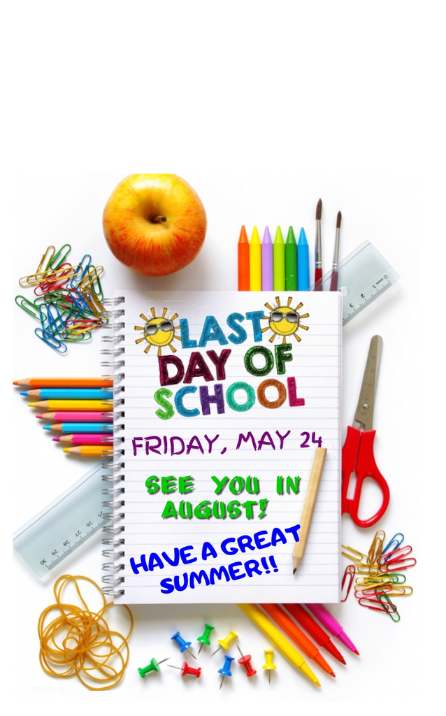 last day of school flyer