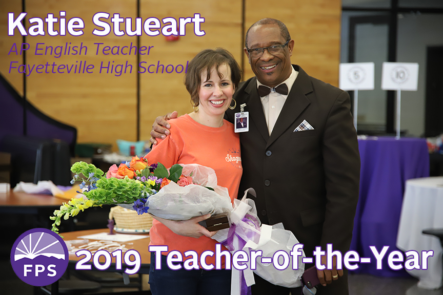 Katie Stueart and Dr. Colbert