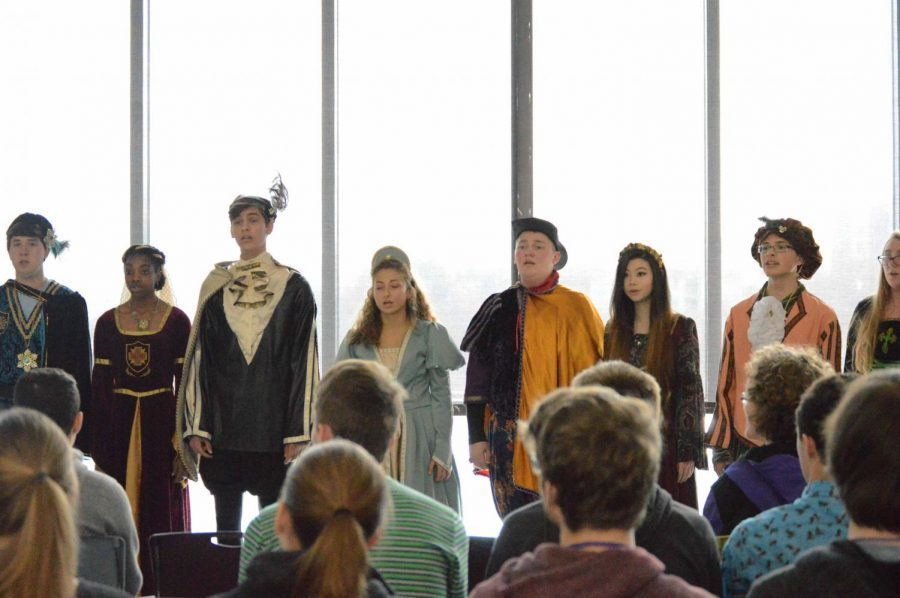Fayetteville High School Choir invites ye noble Lords and Ladies to: THE FIFTEENTH ANNUAL MADRIGAL FEAST ROYAL RENAISSANCE BANQUET For more information click here: https://bit.ly/2CfLRIH