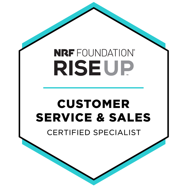 Customer Service and Sale Certification
