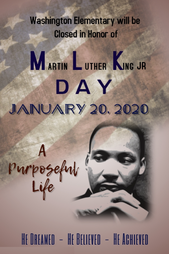 MLK jr closed flyer