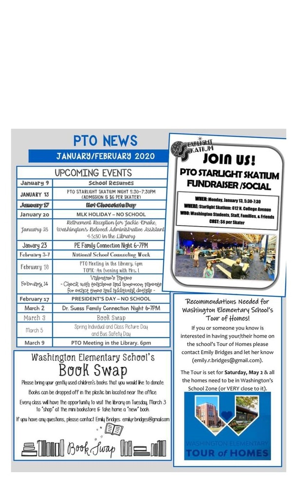 PTO JAN/FEB Newsletter