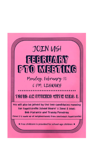 pto meeting flyer